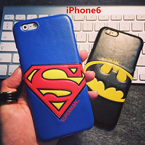スーパーマン iphone6 ケース レザー素材 iphone6(4.7インチ)専用 Superman iphone6 ケース