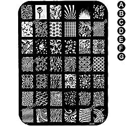 XY Series Nail Art Stamping Image Plate Steel Nail Printing Template for Nail Art BBI-322557