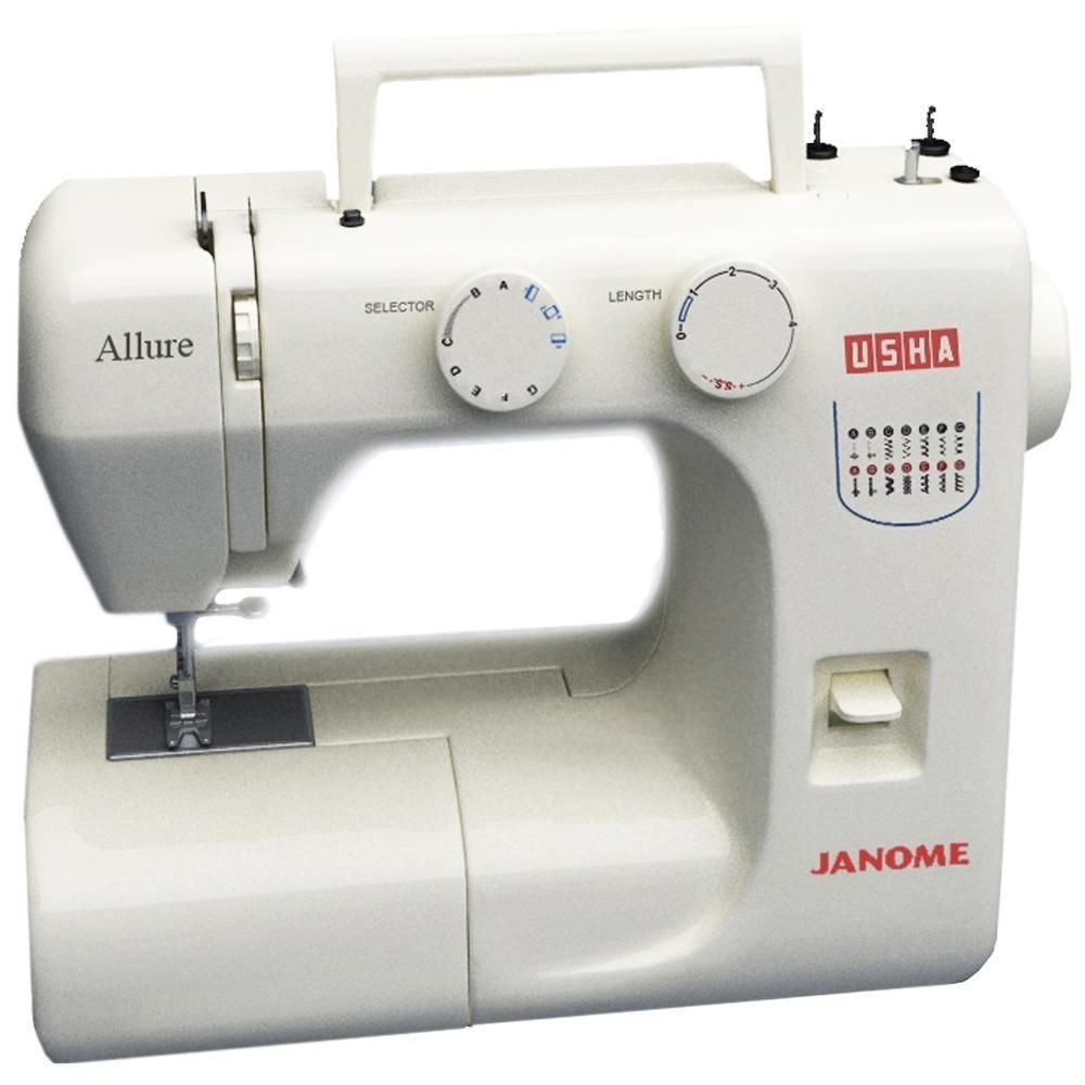 Usha Janome Allure 80-Watt Sewing Machine