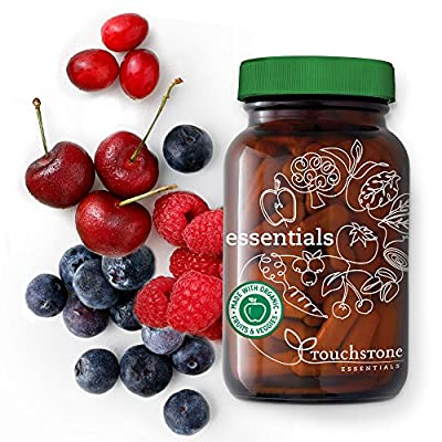 Organic Whole Food Multi Vitamin & Mineral Supplement Cold Processed to Preserve Phytonutrients - Food State Supplements (90 Caps)