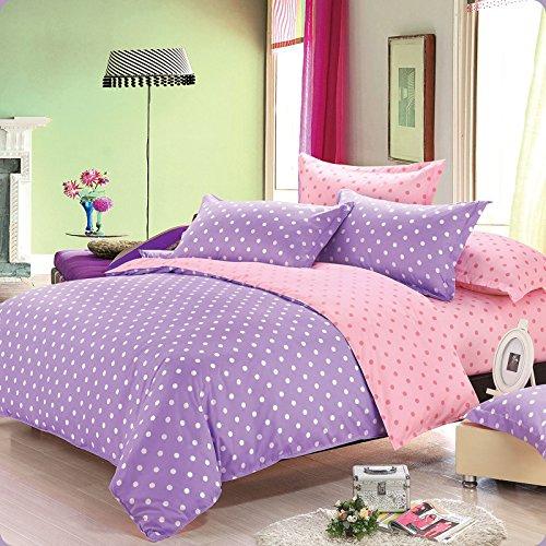 4Pc Bed Sheet Set-Twin/Full/Queen Denim Bedding