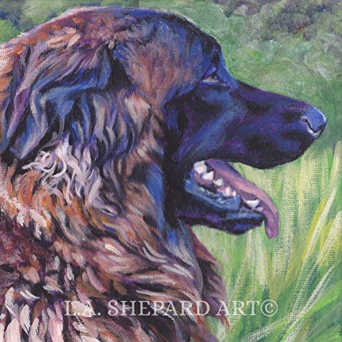 a-estrela-mountain-dog-art-portrait-print-of-an-la-shepard-painting-8x8