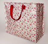 Vintage Floral Designer Storage Bag Laundry Bag Toy Tidy Shopping Bag