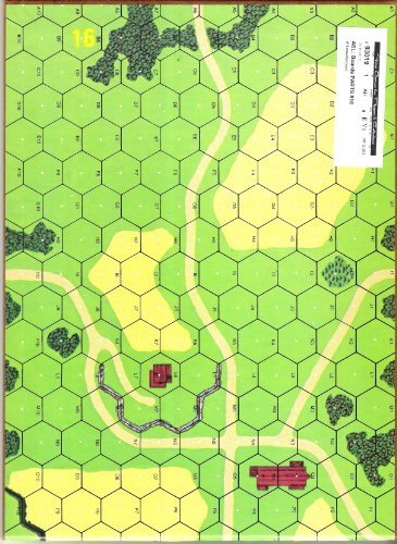 AH: ASL Advanced Squad Leader Mounted Mapboard #16 - 1