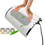 Creazy Nail Art Dust Suction Collector 3 Fans Vacuum Cleaner Manicure Suction US