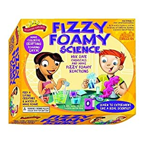 Scientific Explorer Scientific Explorer's Fizzy Foamy Science Kit of Safe Chemical Reactions