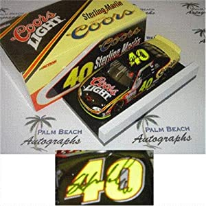 Sterling Marlin Autographed Coors Light #40 (1999 Action) 1/24 Diecast Car