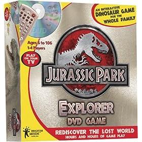 Jurassic Park Explorer DVD Game