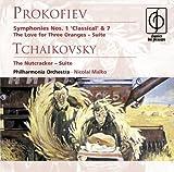 echange, troc Prokofiev, Tchaikovsky, Pao, Malko - Symphonies 1 & 7 / The Love of Three Oranges