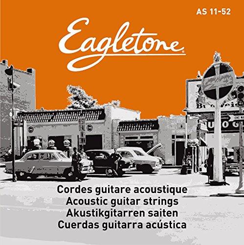 Eagletone AS 11-52 Cordes pour guitare folk light 11-52
