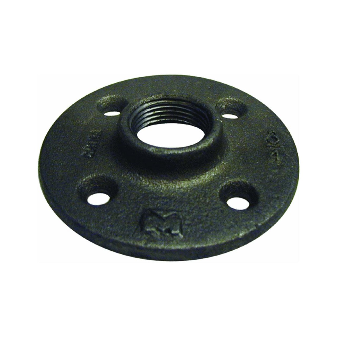 B k floor flange black iron 1 2 fip ebay for 1 black floor flange