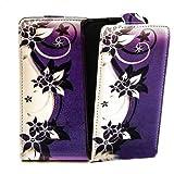 Butterfly Handy Tasche Flip Case Schutz Hülle für Huawei