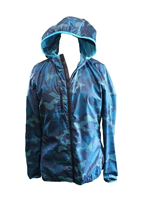 Reebok Women's Slim Fit Training Athletic Jacket Blue