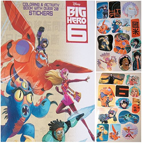 "Disney's Big Hero 6 Mini-Coloring, Activity, and Sticker Book (4.5""x7"")"