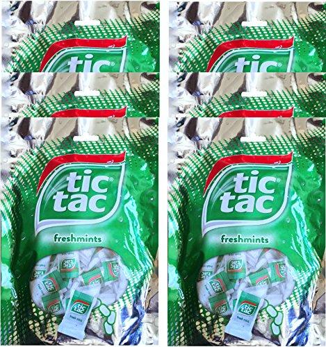 Tic Tac Freshmints Mini Packs Net Wt 3.3 Oz (6) (Tic Tac Mini Packages compare prices)