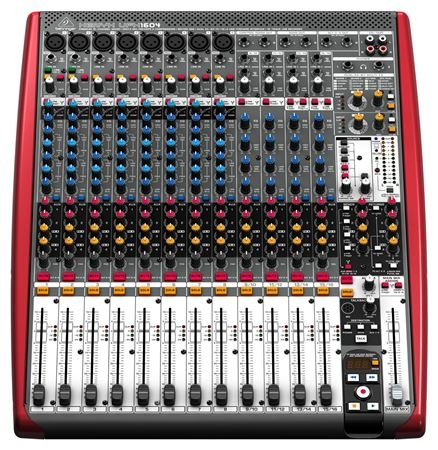 Behringer Xenyx Ufx1604 16 Channel Usb Audio Mixer