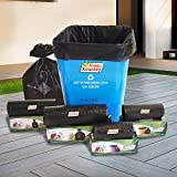 Kleen Kountry Virgin Garbage Bags (Small) size 43cm X 51cm 6 Boxes (Garbage Bags/Dustbin Bags)