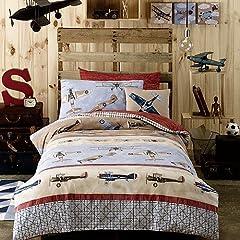 Aviator Single Quilt Cover Set