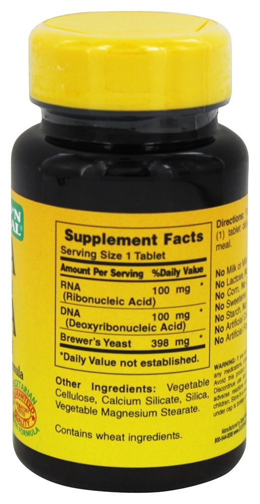 Amazon.com: RNA / DNA, Nucleic Acids Supplement Pills 100 Mg RNA ...