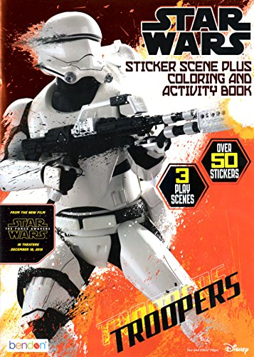 Star Wars Storm Trooper Sticker Scene Plus Coloring And Activity Book - 1