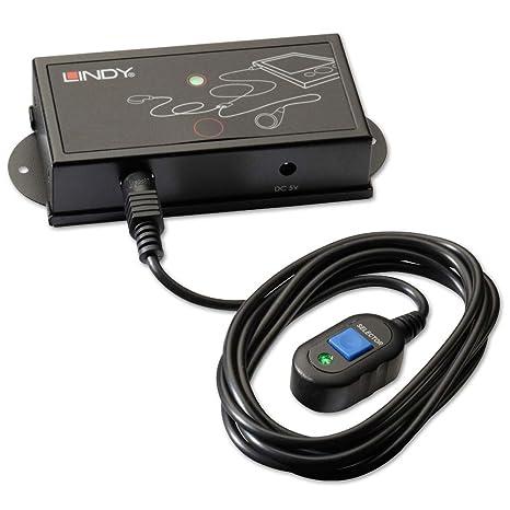 Lindy 38029 Commutateur HDMI/VGA vers VGA avec prise en charge audio Noir