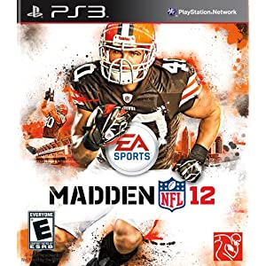 Madden 12 PlayStation 3 Cover