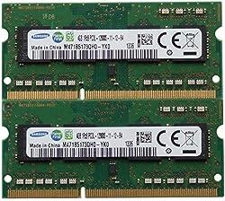 Samsung ram memory 8GB kit 2 x 4GB DDR3 PC3-12800 1600MHz for 2012 Apple Macbook Pro s iMac s and 2011 2012 Mac mini s