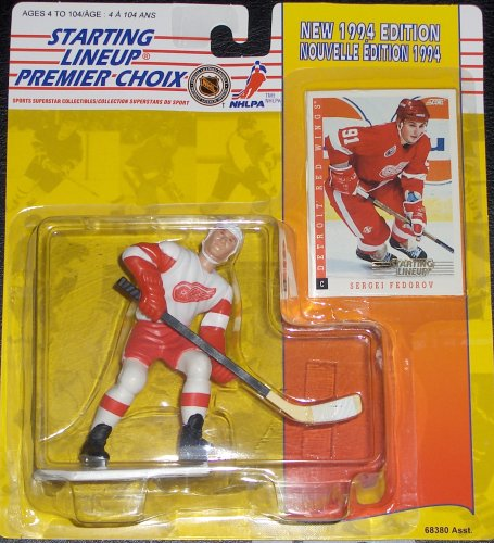 Sergei Fedorov 1994 Canadian Starting Lineup