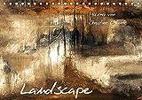 Landscape-Tischkalender-2017-DIN-A5-quer-gemalte-Landschaftbilder-Monatskalender-14-Seiten-CALVENDO-Kunst