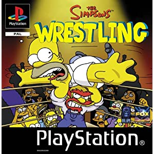 Simpsons Wrestling ������� ���� (�������� ������� PSX � PC)