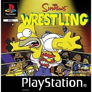 Simpsons Wrestling скачать игру (Симпсоны Реслинг PSX и PC)