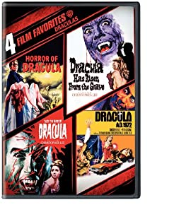 4 Film Favorites: Draculas [DVD] [Region 1] [US Import] [NTSC]