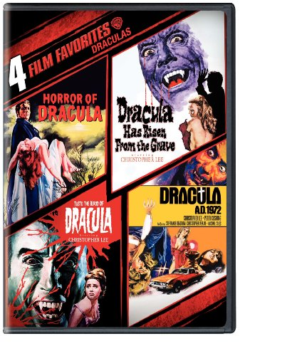 Cover art for  4 Film Favorites (Horror of Dracula / Dracula Has Risen from the Grave / Taste the Blood of Dracula / Dracula A.D. 1972)