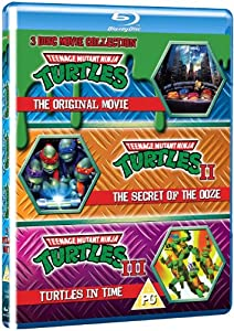 Teenage Mutant Ninja Turtles - The Movie Collection - 3 Disc Set (Teenage Mutant Ninja Turtles/Secret Of The Ooze/Turtles In Time) (Blu-ray)