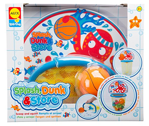 ALEX Toys Rub a Dub Splash Dunk & Store - 1
