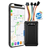 SinoTrack 3G GPS Tracker for Vehicles,Car Locator Device ST-906W Real-Time Anti Lost Alarm GPS Tracker for Car Motorcycle with SOS Button and Mic Voice,Support Free Tracking Platform Lifetime (Color: Black)