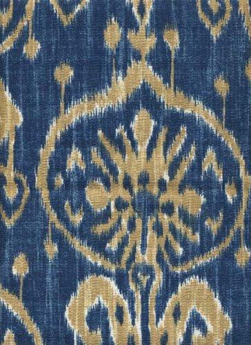 "Fabric Ikat Blue 54"""