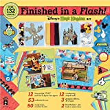 Finished In A Flash Page Kit 12X12-Disney Magic Kingdom