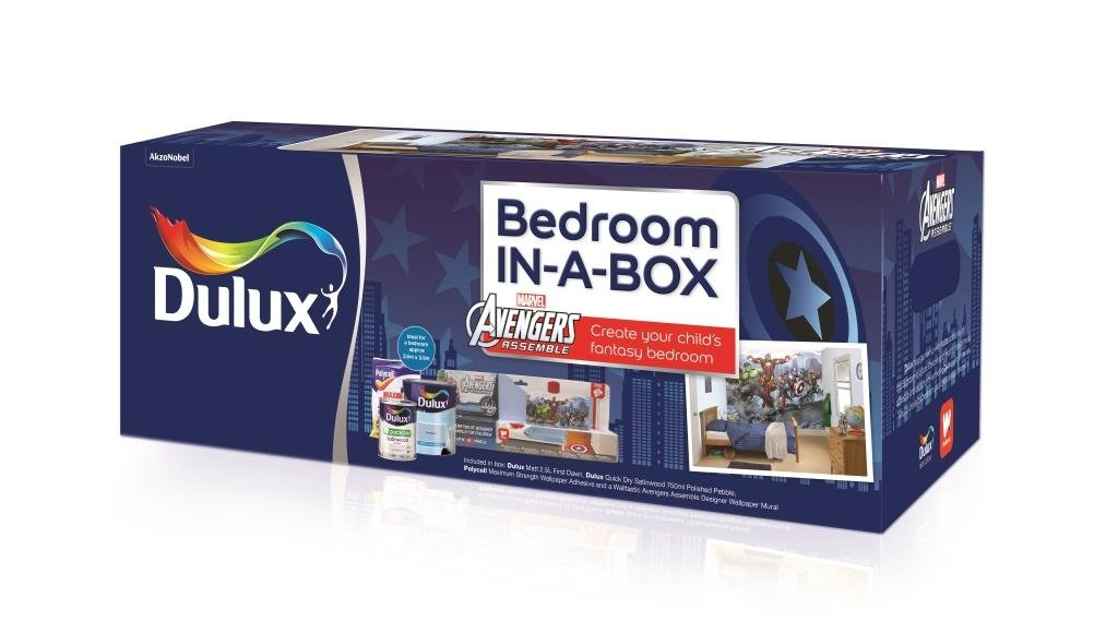 Dulux Bedroom In A Box Avengers       reviews and more information