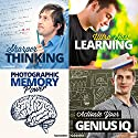 Sharp Mind Hypnosis Bundle: Enhance Your Intelligence, with Hypnosis  by  Hypnosis Live Narrated by  Hypnosis Live