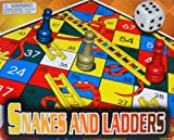 SNAKES and LADDERS GAME BOARD