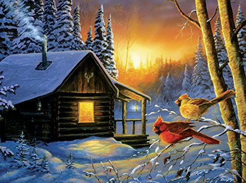Golden Frost 1000 Piece Jigsaw Puzzle by Sunsout Inc.