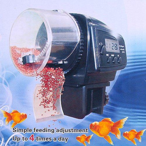 dodocool Digital automático / manual de pescados del acuario Alimentación Alimentador / LCD Timer