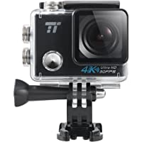 TaoTronics 4K Waterproof Sports Action Camera (Black)