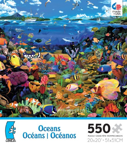 Oceans Coral Reef Jigsaw Puzzle