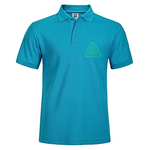 Polo Shirt with Impossible Triangle Print