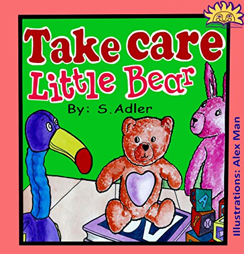 "Children'S Books""Take Care Little Bear""Bedtime Stories(Values)Animal Picture Book Preschool Kids Ages 4-8(Action Adventure)Funny Humor(Kids Ebooks)Children ... Literature & Fiction Animal Story Books 3) front-103606"