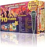 echange, troc Le Meilleur Des Tubes En Karaoké : 2012 Coffret 7 DVD 70 Tubes + 1 Micro