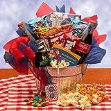Blockbuster Night Movie Gift Basket