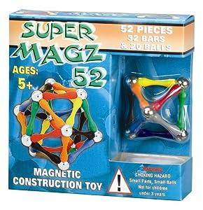 Super Magz 52 Magnetic Construction Kit M1703 (Age 5+)
